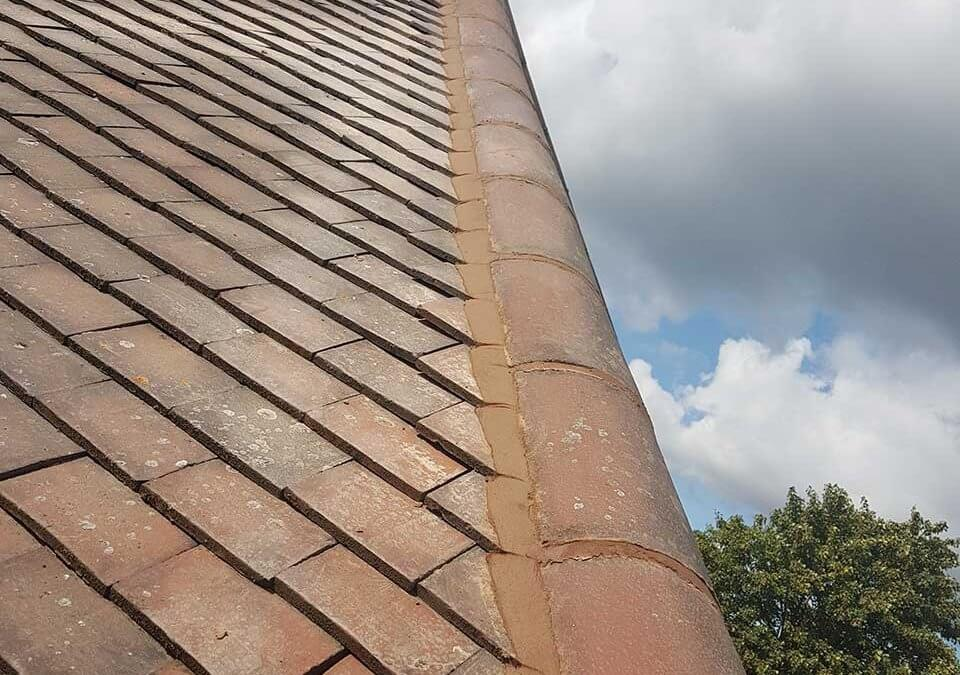 Roof Ridge Repointing – Sutton Coldfield