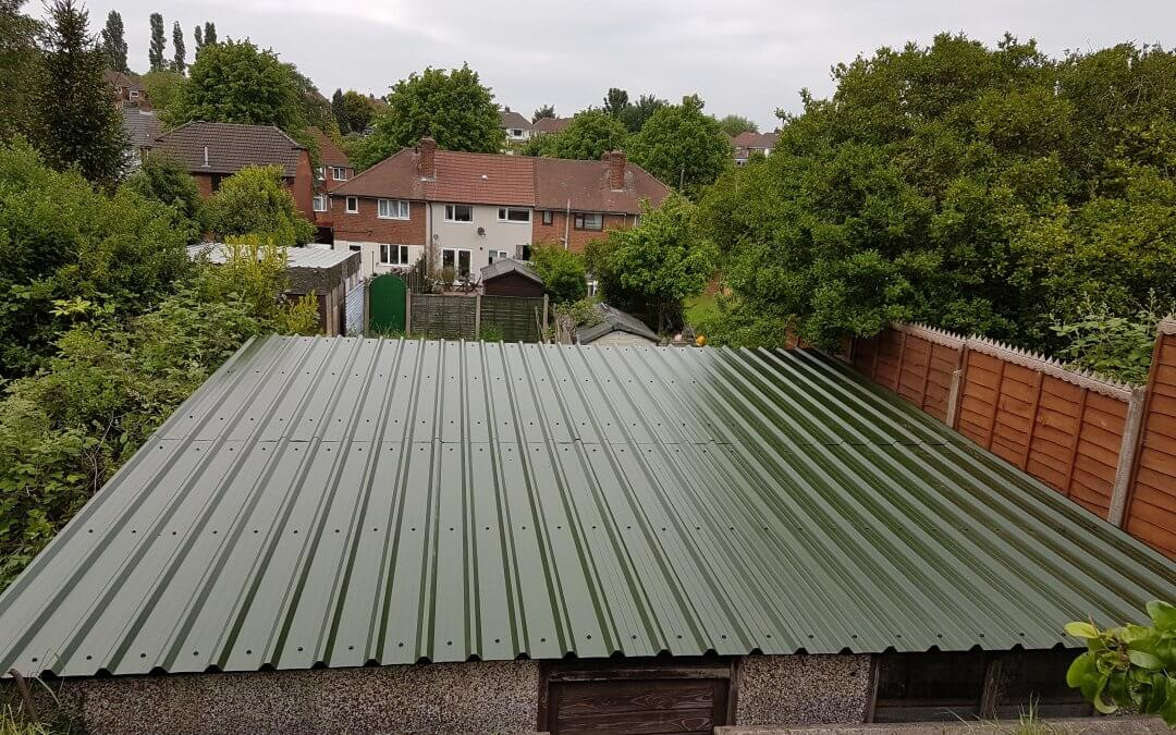 Asbestos to Metal Corrugated Roof – Great Barr 1