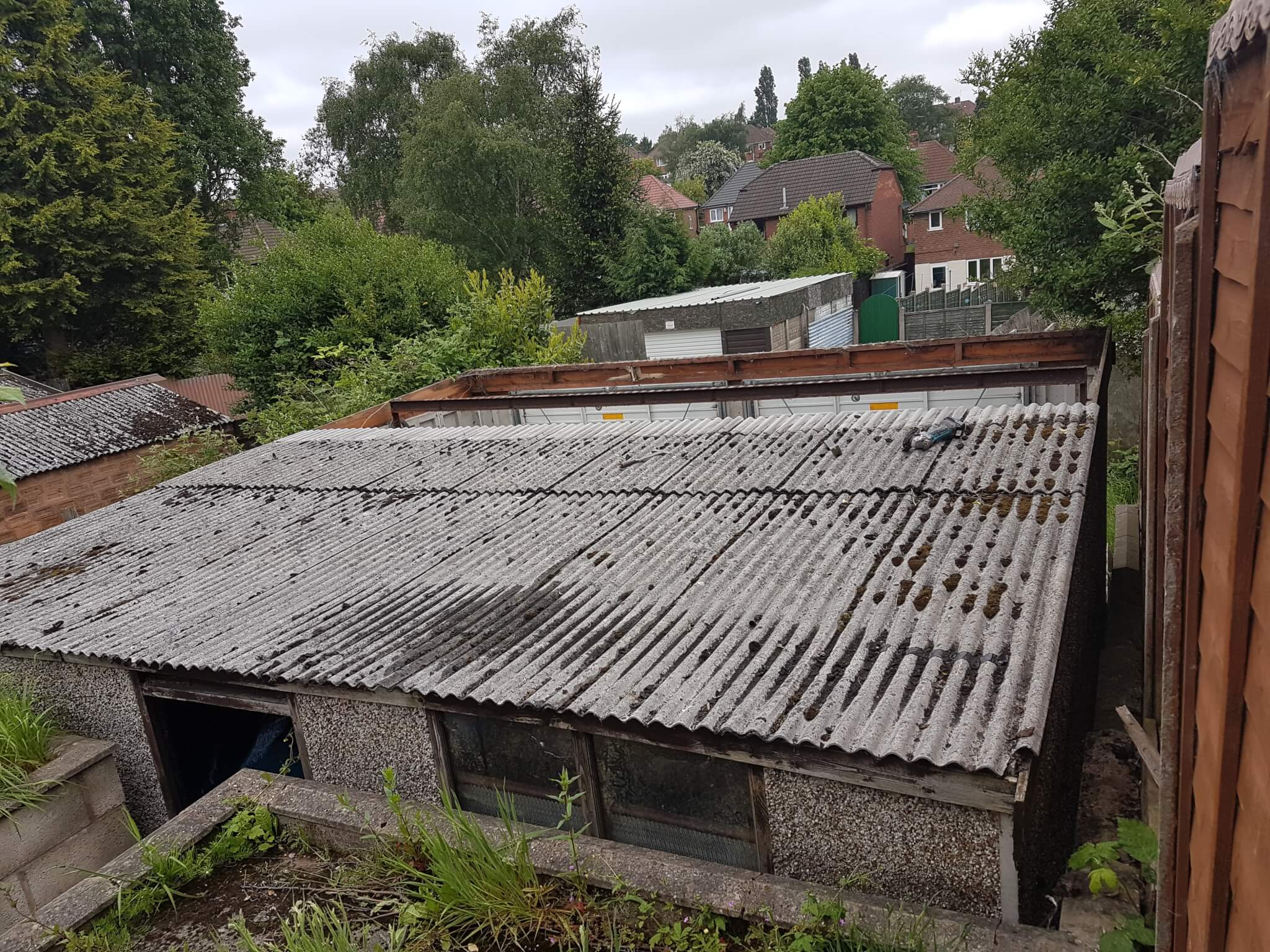 asbestos-repacement-roof-great-barr-before