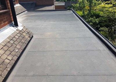 Resitrix Rubber Roof – Four Oaks