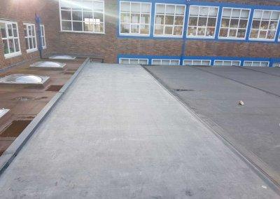 School Rubber Roof – Great Barr