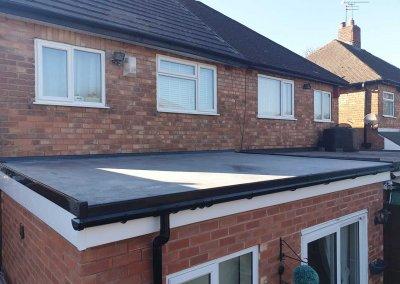 Rubber Roof – Erdington, Birmingham